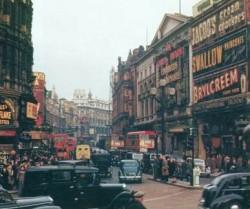 Лондонская улица в районе площади Пикадилли