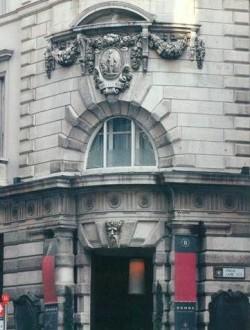 Наружный декор здания Мидлэнд-Бэнк