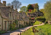 Бибури - деревня в сердце Англии