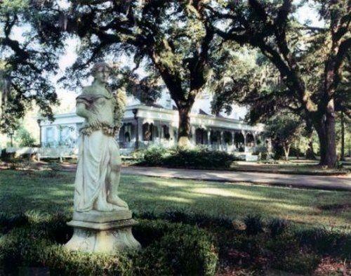 Плантация Миртов в Луизиане - Города призраки Америки