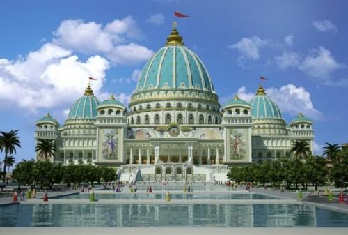Храм Ра́дхи-Партхаса́ратхиэто Международный центр сознания Кришны