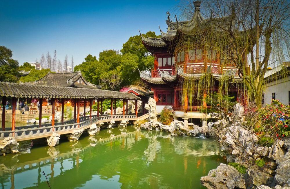 Китайские сады Сучжоу