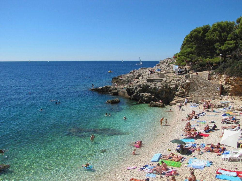 Пляжи Истрии в Хорватии