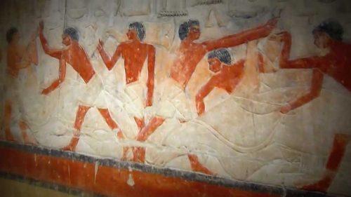 внутри пирамиды Джосера